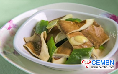 Plain and nutritious eats: Stir-fried Panus giganteus with green pepper