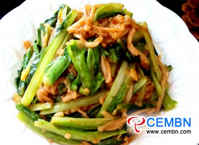 Recipe: Enoki mushrooms