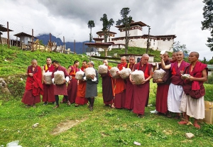 Gasa monks take up oyster mushroom cultivation