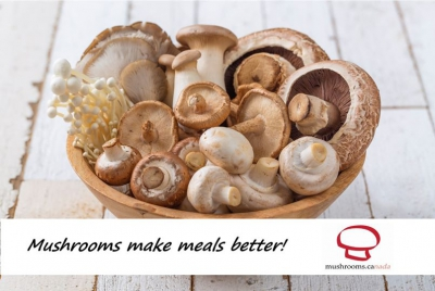 Mushrooms are good for you!