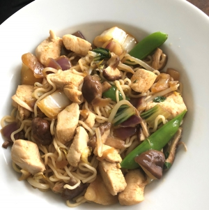 Chicken with Shiitake (Taiwanese style)