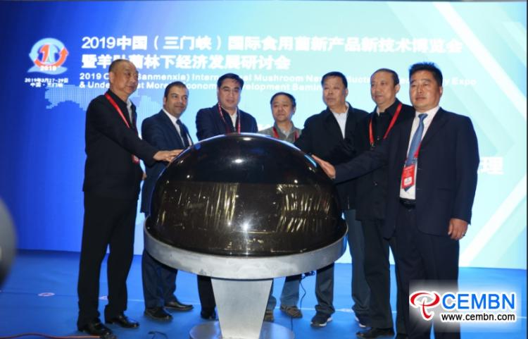 2019 China (Sanmenxia) International Mushroom New Products and Technology Expo was opened