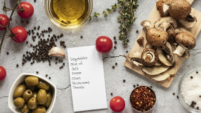 Adding mushrooms to diet increases the intake of micronutrients