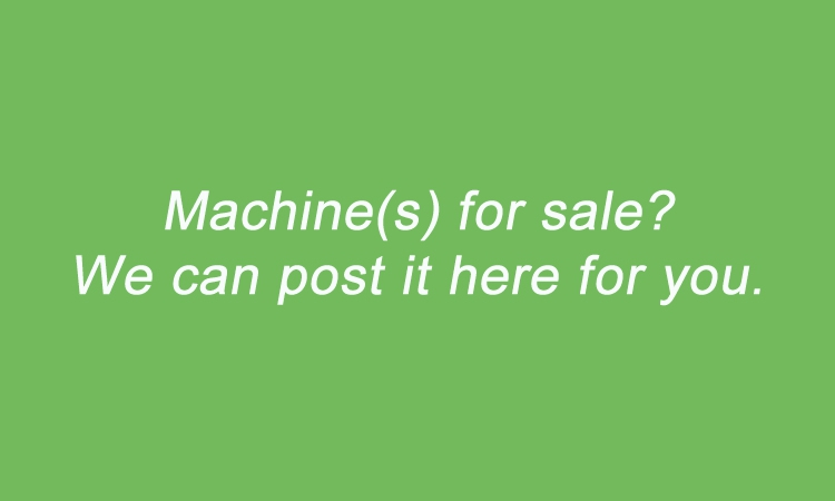 We can post your machine offer here